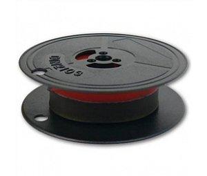 barvicí páska DIN 1, 13x10, černo-červená, 1 cívka, POH1CC