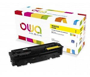 laser toner pro HP CLJ M454 yellow, 2.100 str., komp.s W2032A